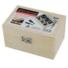 6pc Wood Plug Hole Cutter Set Dowel Cutting Tool Shank Drill Bits from Neilsen