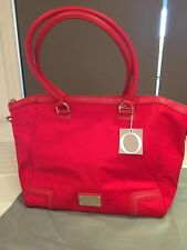 BNWT SIMPLE RED OROTON NYLON WEEKENDER OVERNIGHT TOTE CARRY BAG RRP $395