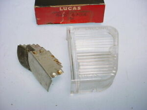 Sunbeam Imp & Arrow Lucas Right Flasher Lamp Side Lens