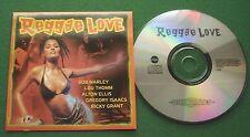 Reggae Love Bob Marley Lou Thomm Alton Ellis Gregory Isaacs Ricky Grant + CD