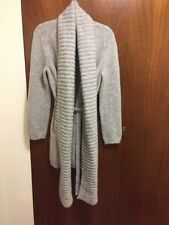 Rare Maison Martin Margiela Thick Attached Scarf Long Sweater Coat
