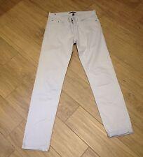 Pantalon Jean Droit Coton Bleu Ciel Esprit Taille 38 Comme Neuf