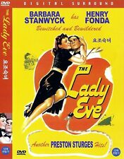 The Lady Eve (1941) Barbara Stanwyck / Henry Fonda DVD NEW *FAST SHIPPING*