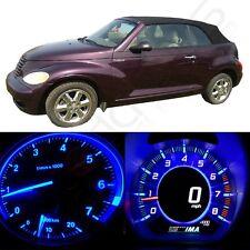 Blue LED Kit Instrument Cluster Light Bulbs For 2001-2005 Chrysler PT Cruiser