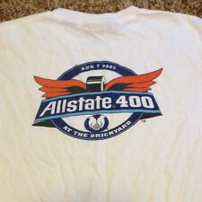 AllState Brickyard 400 Aug 7 2005 White Victory Lane Medium Shirt Tony Stewart