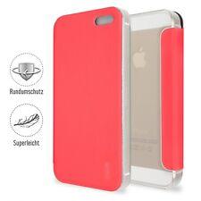 Artwizz Protección elegante de la chaqueta clip caso de piel para iPhone 5 5s SE
