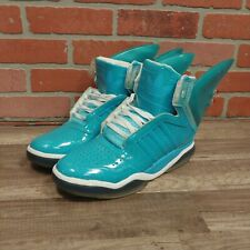 ADIDAS JEREMY SCOTT WINGS BELAIR S77799 MENS SHOES SZ 13 SNEAKERS TEAL LIGHT UP