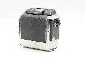 Bronica S/S2/S2a Medium Format 120/220 6x6 Roll Film Back Black #805
