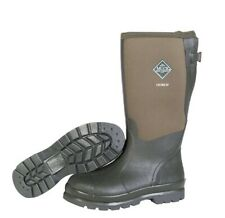 New Mens 9 Original Muck Boots Chore XF Moss Rubber Waterproof Olive Green