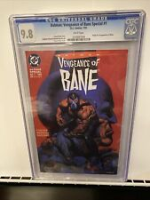 Batman Vengeance Of Bane 1 CGC 9.8