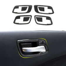 for Chrysler 300 2011+ Interior Door Handle Bowl Cover Trim Bezel Accessories