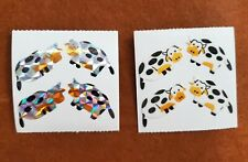 Vintage stickers Great Seven Stickers Cows 2 mods animal