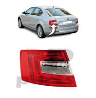Per Skoda Octavia (5E) Hatchback 09-13 Posteriore Faro Sinistra N/S LHD = Rhd
