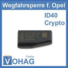 ID40 Transponder Wegfahrsperre Crypto Chip für Opel ID 40