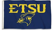 East Tennessee State Buccaneers ETSU 23027 3x5 Flag w/grommets Banner University