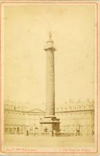Maison Martinet, France, Paris, Colonne Vendôme, ca. 1880, vintage albumen print