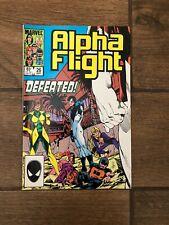 "Alpha Flight Marvel Comic Book #26 ""Defeated!"" 1985 VF"