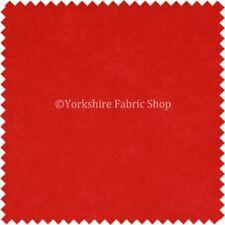 Telas y tejidos color principal rojo 140 cm para costura y mercería