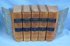 MÉMOIRES de BOURRIENNE / 10 Tomes en 5 Volumes des ÉditionsLadvocat 1829