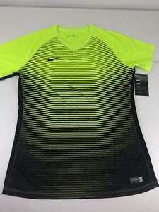 NWT Nike Aeroswift Women's Sz Large L Official Pro Soccer Jersey Volt NEW
