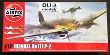 1/72 WW2 German Heinkel He111 P-2 Bomber - Airfix 6014 NEW TOOL