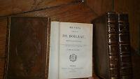 oeuvres complètes de Boileau 1824 4/4, reliure veau