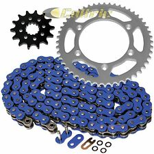 Blue O-Ring Drive Chain & Sprockets Kit Fits YAMAHA WR250F WR400F WR426F WR450F