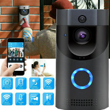 Video Doorbell Wireless Smart Phone Door Ring Security Bell WiFi Intercom Camera