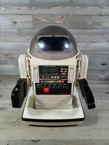 Vintage Omnibot Tomy Space Robot Model 5402 with Cassette (untested) ===