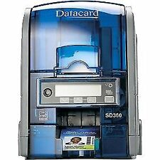 Datacard Sd360 Duplex Plastic ID Card Badge Printer Including Full Starter Pack