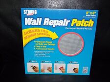 """Strong Patch Drywall Patch 8"""" X 8"""" Wall Patch Ceiling Light Outlets Usa made"""