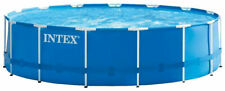 Intex 15ft X 48in Metal Frame Above Ground Pool Set