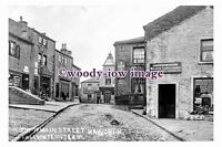pu0305 - Main Street Haworth & Bronte Museum , Yorkshire - photograph