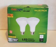 OptoLight LED Lamp Value Pack, Dimmable, 9w, 2-Pack **BRAND NEW**