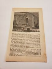 The Torture Chamber & The Brewery Ratisbon Regensburg Germany c. 1872 Engraving