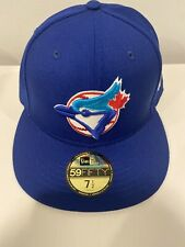 New Era MLB Toronto Blue Jays World Series Patch Fitted Size 7 1/2