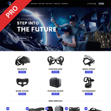 Virtual Reality Dropshipping Store Automated Website Business Newbie Friendly