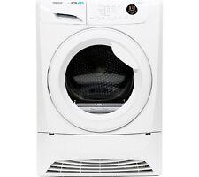 Zanussi ZDH8333W 8kg Heat Pump Condenser Tumble Dryer in White