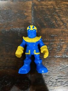 Hasbro Playskool Marvel Super Hero Adventures Thanos Blue Yellow Death Titan