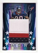 Mario Williams Houston Texans 2006 Absolute Memorabilia Jersey Card 06/10