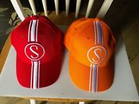 Stingray Bicycle Apple Krate & Orange Krate Baseball Caps Schwinn krate hats