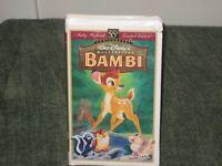 Bambi Walt Disney Masterpiece VHS 1997 Fully Restored 55th Anniv. Edition #9505