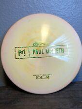 Discraft Paul McBeth Prototype Swirly Cream Esp Malta 175-176g 9/10