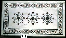 3'x2'  Marble Kitchen Dining  Corner Coffee Center Table Top Mosaic Work