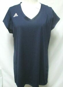 Adidas Volleyball Navy Jersey Women Climalite Top Shirt NEW NWT Size X-Large XL