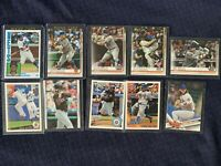 New York Mets Lot 4 PETE ALONSO 1984 Rookie Cards, Jeff Mcneil, Jose Reyes