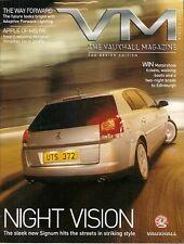 Vauxhall V Magazine Winter 2004 UK Market Brochure Astra BTCC Signum ECO VX220