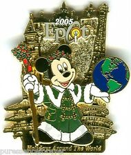 WDW Epcot Holidays Around The World 2005: Mickey Pin