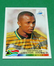 N°187 KHUMALO SOUTH AFRICA AFS PANINI FOOTBALL FRANCE 98 1998 COUPE MONDE WM