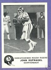 1981 Jogo CFL Saskatchewan Roughriders Team Set